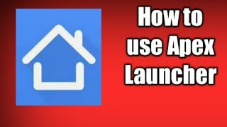 How to hide app with Apex Launcher /How to hide app/How to use Apex Launcher screenshot 4