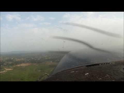 C206 takeoff @ Bangui