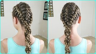 The Triple Feathered French Braid /  Bonita Hair Do
