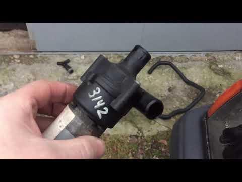 Дополнительный насос печки w124