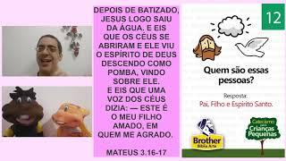 Catecismo para Crianças Pequenas - Pergunta 12