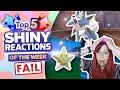 top 5 shiny fails of the week pokemon sword and shield shiny montage