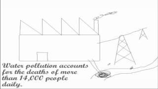e-dessin animé - vidéo de sensibilisation à l'Environnement: Pourquoi ne pas gaspiller de l'électricité et des effets de la pollution