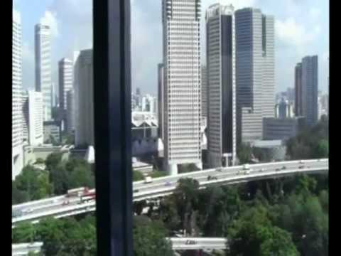 Singapore City from flyer.mpg