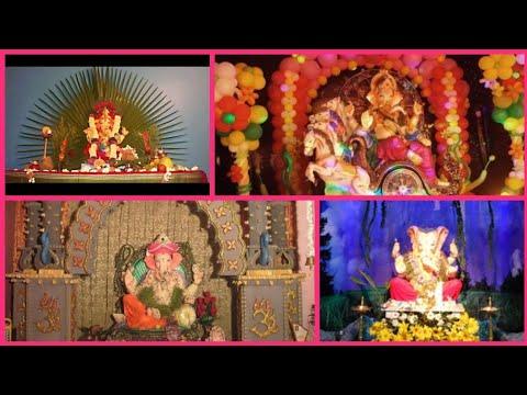 ganesh chaturthi creative decor ideas || ganpati decorations during ganesh chaturthi