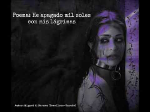 Poema: He apagado mil soles con mis lágrimas para Onda Sevilla Radio (106.2 FM)