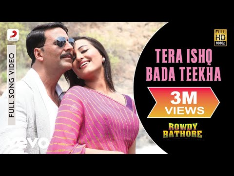 Sajid Wajid, Javed Ali, Shreya Ghoshal - Tera Ishq Bada Teekha (Lyric Video)