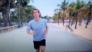 Andy Murray training
