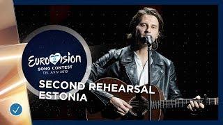 Estonia 🇪🇪 - Victor Crone - Storm - Exclusive Rehearsal Clip - Eurovision 2019