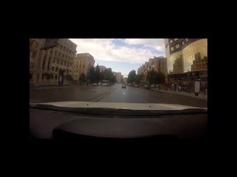 A GoPro Drive to work in Azerbaijan