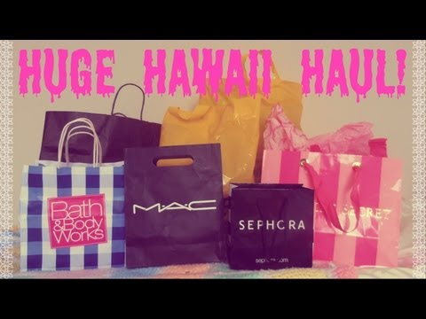 Huge Hawaii Haul! | Brandy Melville, Forever 21, Sephora,Victoria's Secret