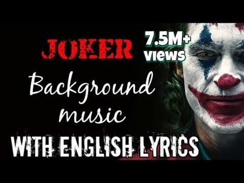 Joker BGM music full song | Indila - Dernière Danse | lyrics with English Translation HQ