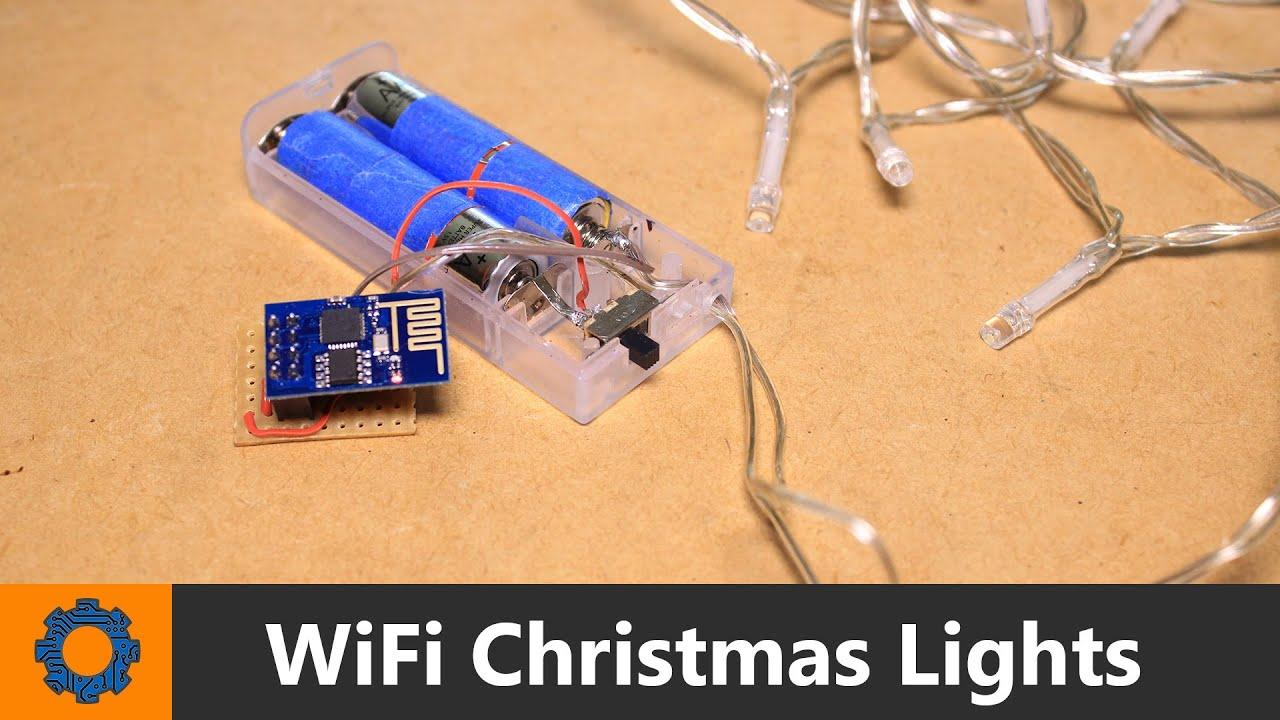 ESP8266 Module - WiFi Christmas Lights - YouTube