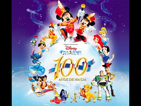 Disney on Ice 100 Años de magia 2015 Málaga. Disney on ice full show