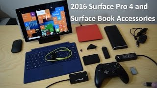 Ultimate Surface Pro 4 and Surface Book Accessories | 2016 Edition