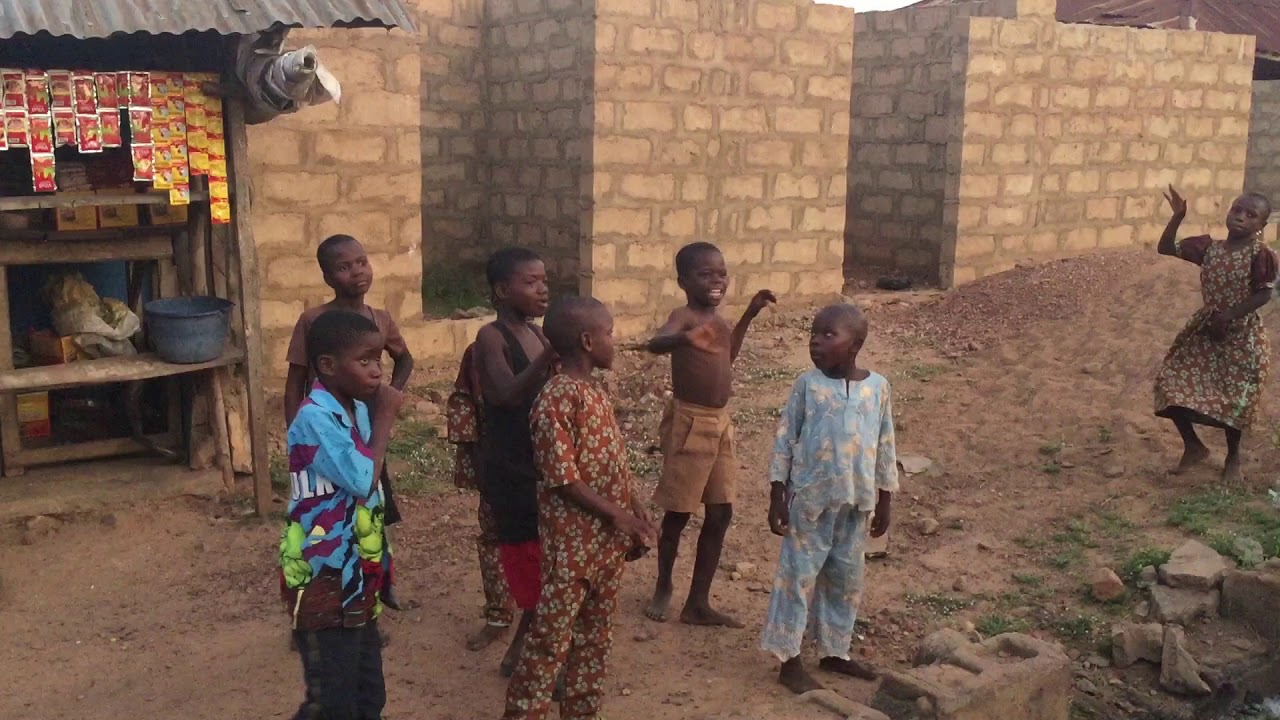 Download Igbo-Ora, Nigeria: Dancing Children at a Naming Ceremony After Party