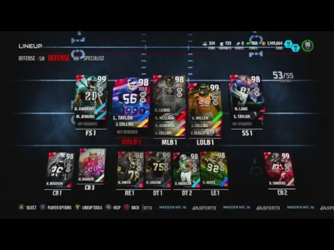 Road To 99 Overall! - Episode 8 - ROD WOODSON ULTIMATE LEGEND! - MUT