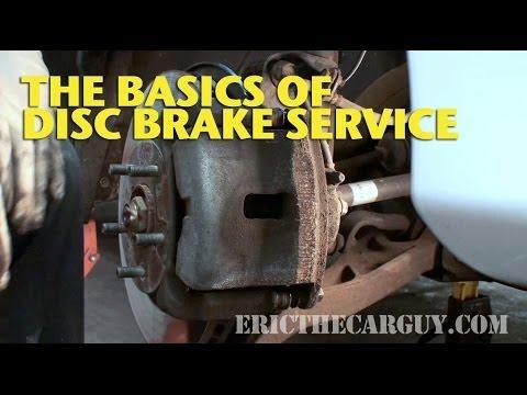 The Basics of Disc Brake Service -EricTheCarGuy