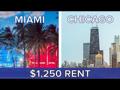 $1,250 Rent: Miami Vs. Chicago