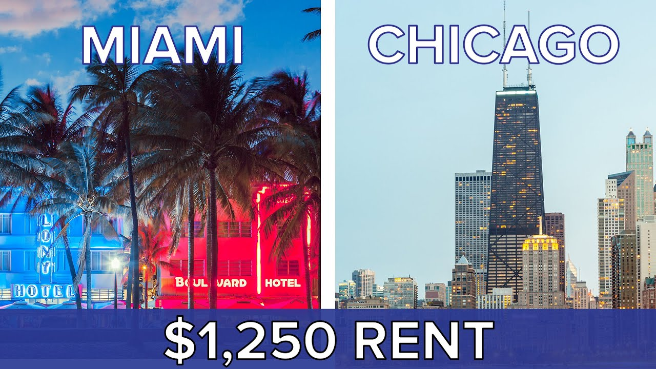 $1,250 Rent: Miami Vs. Chicago