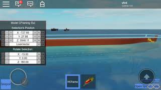 Sinking S.S. Poseidon 1972 adventure in roblox
