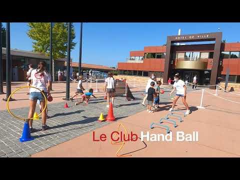 FA D03 - Le CLUB DE HANDBALL en démonstration - Forum des Associations de Lège-Cap Ferret.