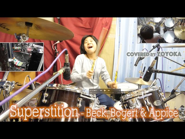 Superstition- Beck Bogert & Appice  / Covered by Yoyoka, 10 year old