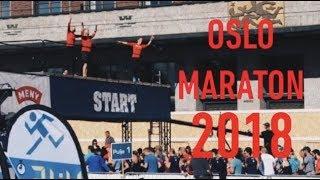 Oslo maraton 2018 vlog