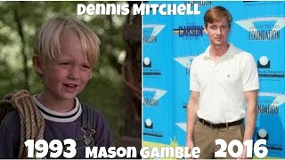 Dennis the Menace Then and Now