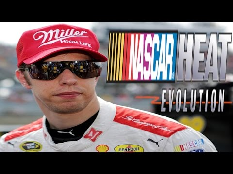 NASCAR HEAT EVOLUTION with BRAD KESELOWSKI