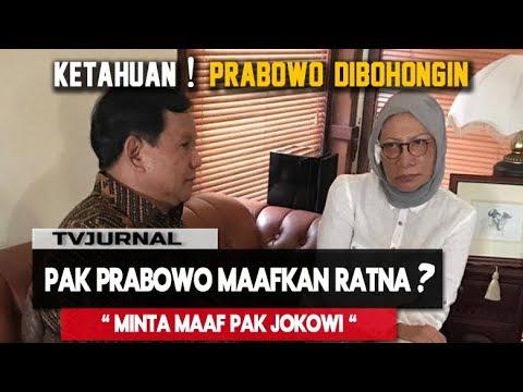 PRABOWO Minta Maaf Ke JOKOWI, Nenek Ratna Sarumpaet MEWEK...