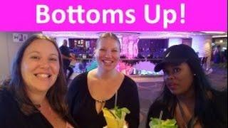 Bday Dinner • Tipsy Elizabeth • Gambling ... What a Night! Norwegian Escape Cruise Vlog [ep10]