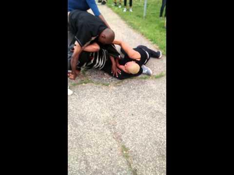 Morris black junky fight