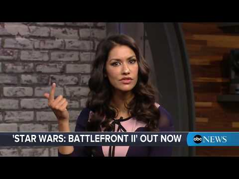 """Star Wars: Battlefront II"" video game demo with star Janina Gavankar"