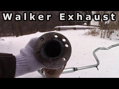 Exhaust Resonator Installation