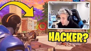 sNINJA Meet HACKER - Unbelievable 4124m Snipe - Fortnite Twitch Funny Moments