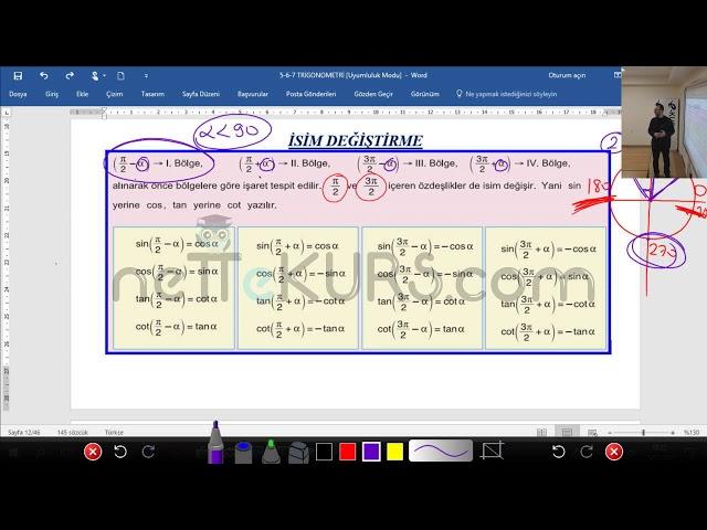 YKS (TYT AYT) Matematik -  İsim Değiştirme / nettekurs.com