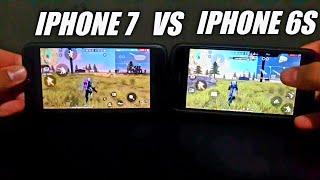 IPHONE 7 VS IPHONE 6S FREE FIRE ULTRA ALTA RESOLUÇÃO 60FPS