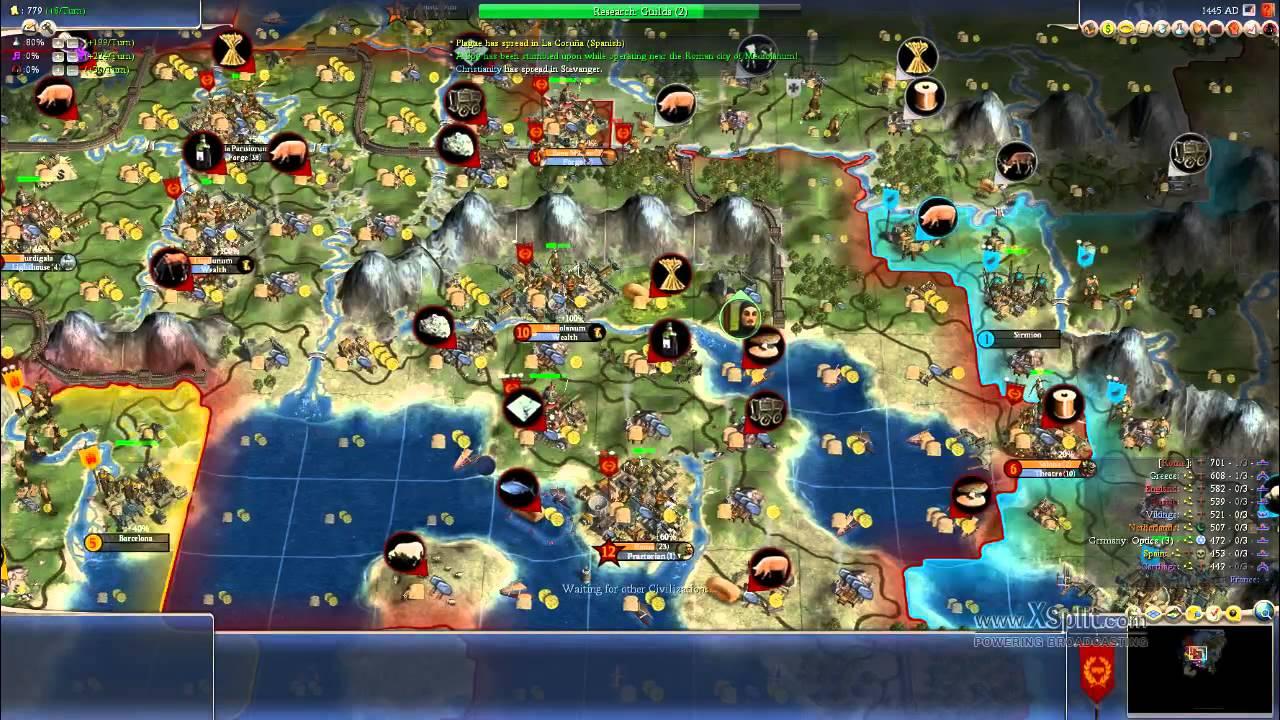 IIzTrollin:Civilization 4:Rhye's And Fall Of Civilization