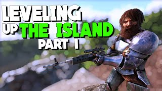 (Live)NEW CHARACTER LEVELLING! Part 1 - Solo Life -Official - ARK: Survival Evolved