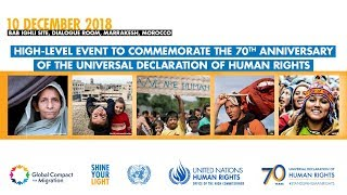 70th Anniversary of theUniversal Declaration of Human Rights