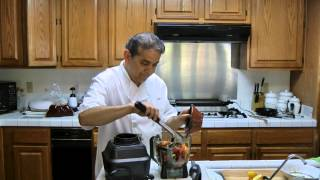 Making Salsa Brava (mexican Hot Salsa)