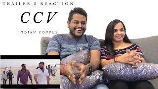 CCV | Chekka Chivantha Vaanam Trailer 2 Reaction & Review  | Indian Couple | Tamil