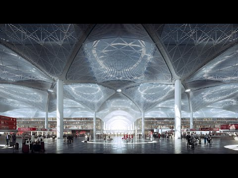 The Airport of The Future: Istanbul New Airport will be One of The Biggest Airports in The World
