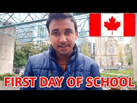 First Day Of University In Canada Vancouver ( University Canada West )