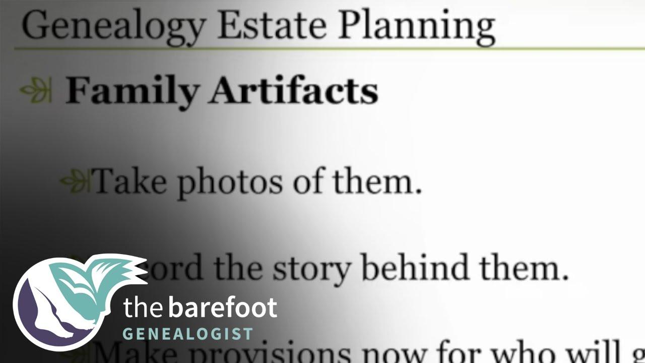 Genealogy Estate Planning | Ancestry