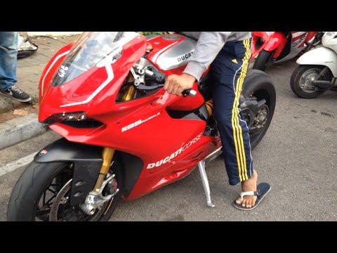 Ducati Panigale R in Bangalore, India!