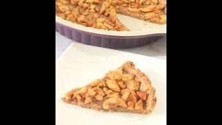 Яблочный тарт из цельнозерновой муки