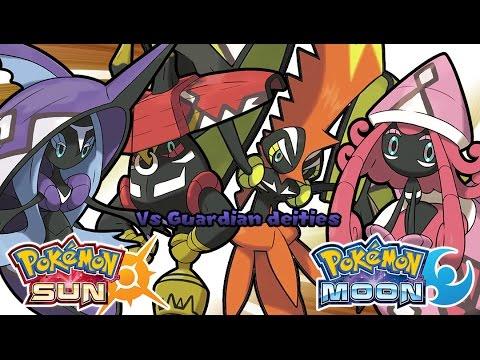 Pokemon Sun & Moon - Guardian Deities Battle Music (HQ)