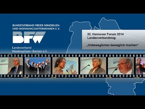 BFW Hannover Forum 2014 - Immobilien Imagefilm - Eventvideo - Eventfilm